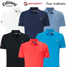 NEW 2017 Callaway Golf Opti Vent Tour Logo Polo II Opti Dry Mens  Polo Shirt