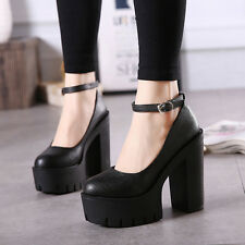 womens summer high-heeled shoes sexy thick heels platform pumps casual shoes