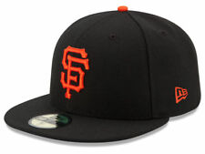 New Era San Francisco SF Giants 2017 GAME 59Fifty Fitted Hat (Black) MLB Cap