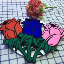 1Pcs Flower Case 3D Rose Soft Gift Silicon For iPhone Back Cover Phone Valentine