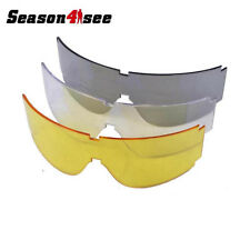 Outdoor Tactical Airsoft Windproof Dustproof Goggle Eye Protective Glasses
