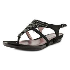 Kenneth Cole Reaction Lost The Way Women  Synthetic Black Thong Sandal NWOB