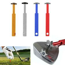 Professional Aluminium Golf Club Groove Sharpener Wedge Cleaner Regrooving Tool