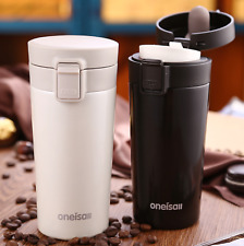 NEW Hot 304 Stainless Steel Insulation Cup Thermos Mug Stylish Coffee Mug