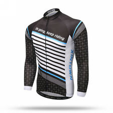 Pro Team Bike Cycling Long Sleeve Jersey Tops Bicycle Jackets Clothing Mens