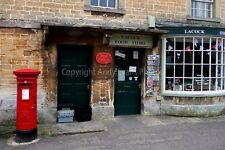 Lacock Village Store and Post Office Wiltshire photograph picture poster print