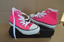 New in Box Converse Girl's Youth CT All Star Pink Glo HI Top Shoes