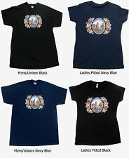 """Canal barge ware clothing """"Canal Art T-Shirts"""" with Roses & Castles"""