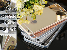 Ultra Thin Glossy Silicon Electroplating Mirror Soft Case For Apple iPhone 6