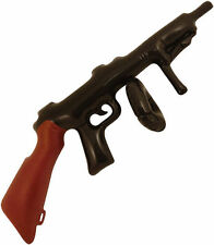 INFLATABLE BLOW UP TOMMY GUN 1920'S Bulk 80CM NOVELTY GANGSTER TOY