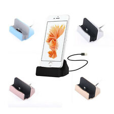 1Pcs For iPhone Stand Cradle New Charger Hot Desktop Sync Charge Dock Station