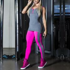 Women's Yoga Gym Stretch Jumpsuit Leggings Fitness Jogging Running Workout