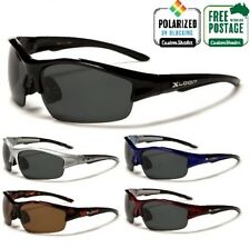 Xloop Polarised Sunglasses - Men's Wrap Around Sports Frame / Polarized Lens