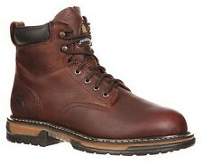 "NEW ROCKY Work Boots Men's 6"" IRONCLAD WATERPROOF Full Grain Leather FQ0005696"