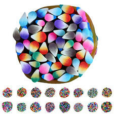 50pcs 3D Nail Art Fimo Canes Stick Rods Polymer Clay Stickers Decor DIY