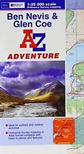 Ben Navis & Glen Coe Adventure Atlas A-Z,PB,Geographers A-Z Map Co Ltd - NEW
