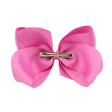 Baby Big Bows Ribbon Grosgrain Bow BoutIque Hair Clip Girl Alligator Clips 1Pcs