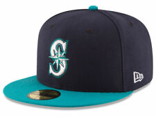 New Era Seattle Mariners 2017 ALT 59Fifty Fitted Hat (Dark Navy/Teal) MLB Cap