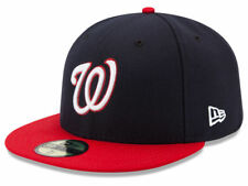 New Era Washington Nationals 2017 ALT 59Fifty Fitted Hat (Dark Navy/Red) MLB Cap