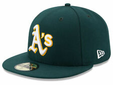 New Era Oakland Athletics 2017 ROAD 59Fifty Fitted Hat (Green) MLB Cap