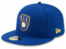 New Era Milwaukee Brewers 2017 ALT 59Fifty Fitted Hat (Royal Blue) MLB Cap