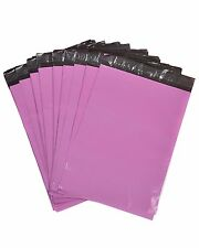 PE Pink Mailing Bags Postal Sacks Envelopes Mailers Plastic Poly Self Seal