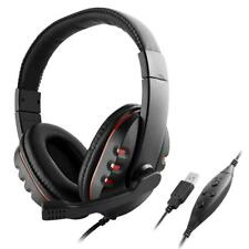 NEW Stereo Microphone Gaming Headset Headphone Earphone for PS3 PS4 PC