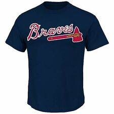 Atlanta Braves Majestic MLB Adult Replica Tee Shirt