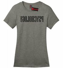 Reverse Psychology Funny Ladies Soft T Shirt College Humor Funny Party Tee Z4