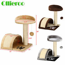 "Cat Tree 18"" Level Condo Furniture Pet Play House Scratching Post Kittens Deluxe"