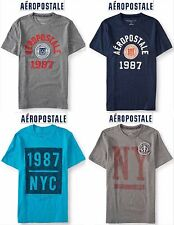NWT Aeropostale Men's 3XL Appliquéd Graphic T Shirt XXXL Blue,Navy,Grey 3x New!!