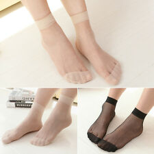 Comfortable Short Ankle Stockings Women Ladies Thin Socks Ultra Thin Crystal New