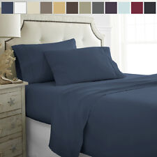 Hotel Quality Egyptian Comfort 4-Piece Bed Sheet Set