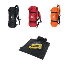 Outdoor Rock Climbing Rope Bag Caving Pouch Sling Cord Hiking Shoulder Backpack