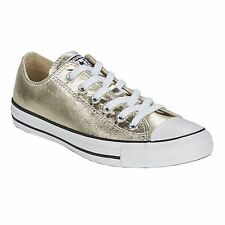 Converse Chuck Taylor All Star Ox Light Gold White Women Sneakers Unisex
