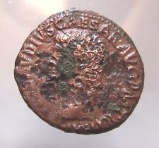 CLAUDIUS. COPPER AS. Ref. 599.
