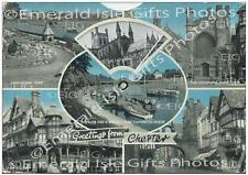 Cheshire Multi-view - Greetings from Chester Old Photo Print - Size Select