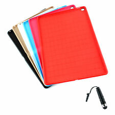 TPU Leather Stand Case Cover for Apple iPad Pro 12.9 inch + Stylus BK