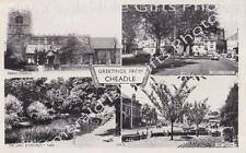 Cheshire Greetings from Cheadle mutli-view Old Photo Print - Size Selectable