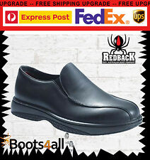 New Redback Chef Work Boots Shoes Water Slip Resistant Resist Hospitality RCBN