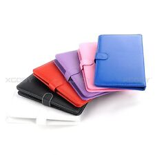 XGODY PU Leather Micro USB Keyboard Case Stand Cover for 9 inch Android Tablet