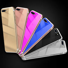 Colored Mirror Tempered Glass Film Screen Protector for iPhone 5 5S 6 6S Sanwood