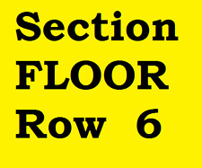 2 FLOOR Tickets Jimmy Buffett Rogers Arena Vancouver BC Friday October 13, 2017