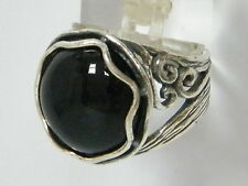 Handmade Sterling Silver 925 Ring cocktail Ring Black Onyx Women's Ring