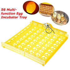48/56 Egg Poultry Chicken Incubator Turner Tray Hatch Motor Temperature Control