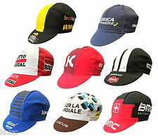 Retro Pro Team Men's Road Cycling Cotton Caps Vintage Fixed Gear Made In Italy