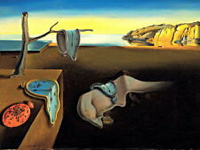 Salvador Dali The Persistence of Memory Abstract Art Wall Print POSTER AU