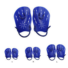 1 Pair Swimming Gloves Hand Webbed Finger Fins Training Paddle Gloves Sanwood