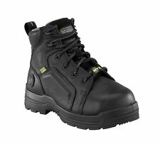 "Rockport Works RK6465 Composite Toe Mens Black Leather 6"" EH MetGuard Work Boots"