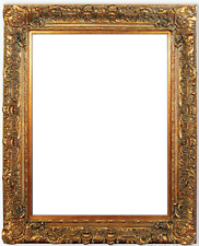 """7.5"""" fancy Gold Ornate Oil Painting Wood Picture Frame 845G"""